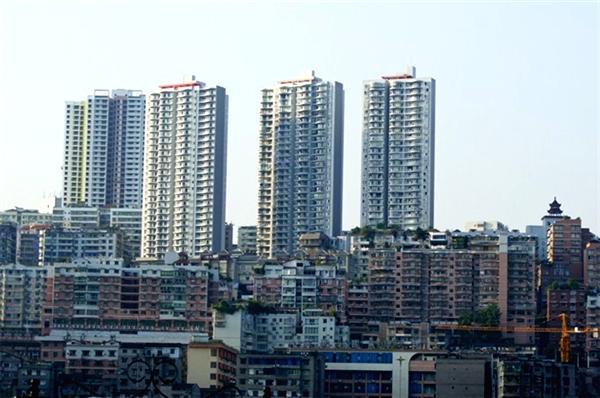 忠县 建筑 矢量图