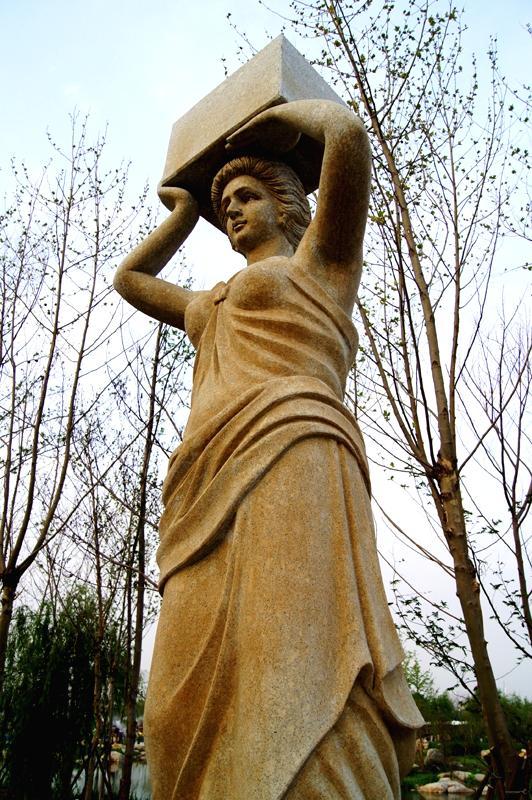 意大利台地园雕塑